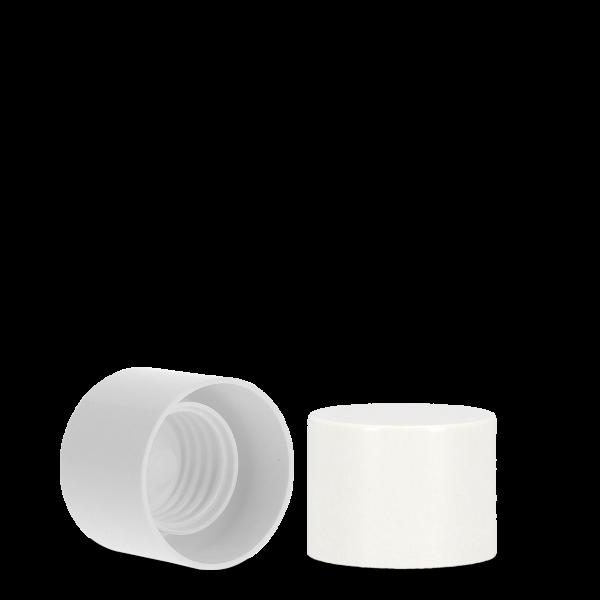 Schraubverschluss - weiß - Tellerrand 32