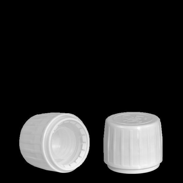 Drück & Dreh Verschluss - weiß