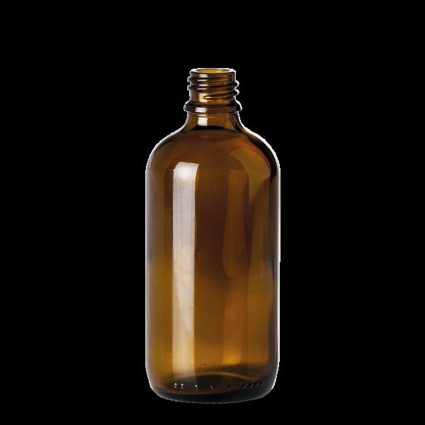 100 ml Allroundflasche - Braunglas - GL 18 Gewinde