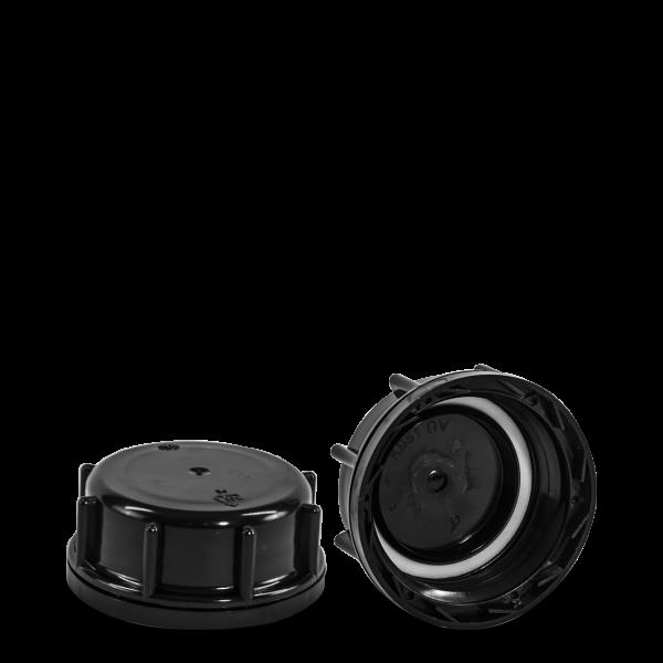 Kanisterverschluss - schwarz - DIN 61 Gewinde - UN