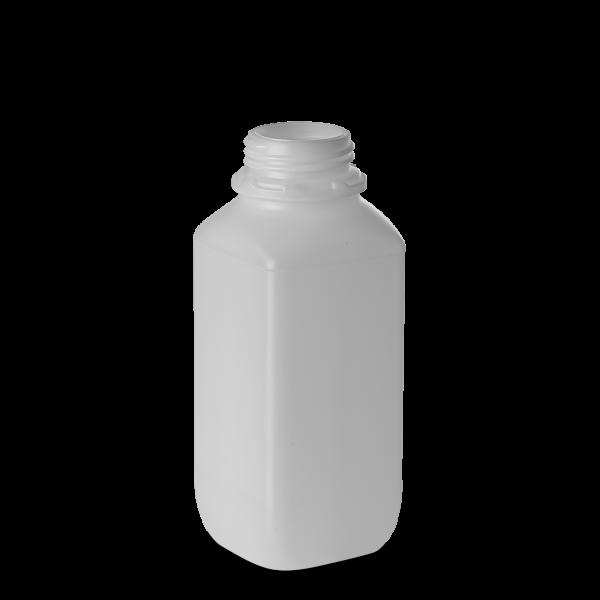 1000ml Vierkantflasche - natur - OV 54 - UN-X
