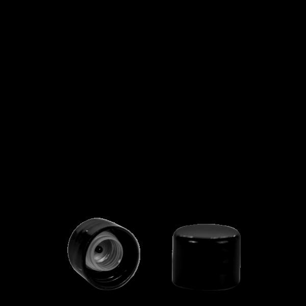 Schraubverschluss - schwarz - DIN 20 Gewinde