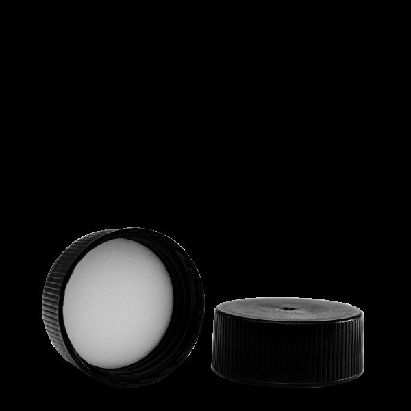 Schraubverschluss - schwarz - DIN 40 Gewinde