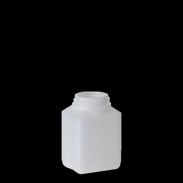 500 ml Vierkantflasche - natur - DIN 60 Gewinde
