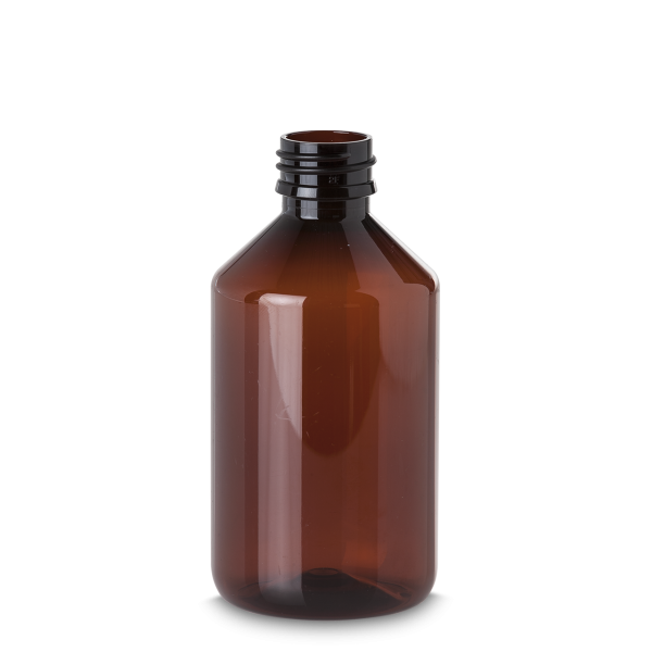 1000 ml Pharma Veral - braun - PP 28 Gewinde