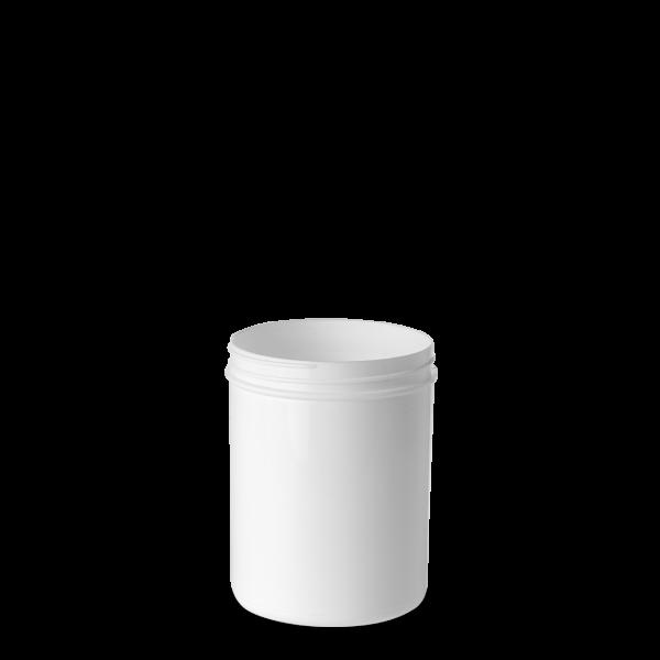 250 ml Schraubdose - rund - weiß - Gewinde 65 mm
