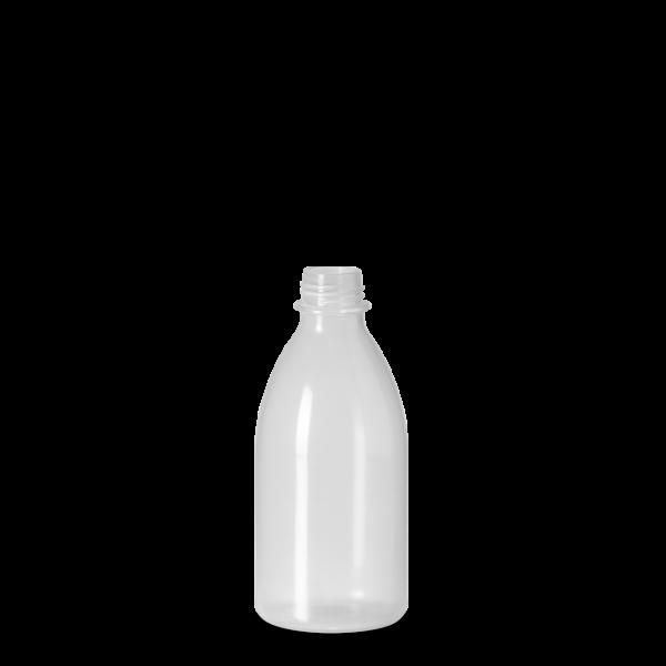 250 ml Enghals Laborflasche - rund - DIN 25