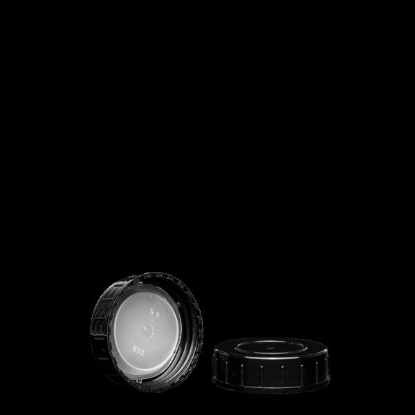 Schraubverschluss - schwarz - GL 45 - PP