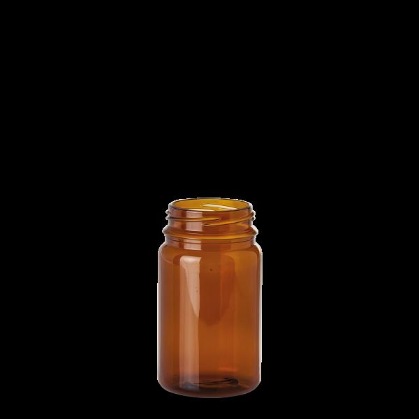 300 ml PET-Dose - rund - braun