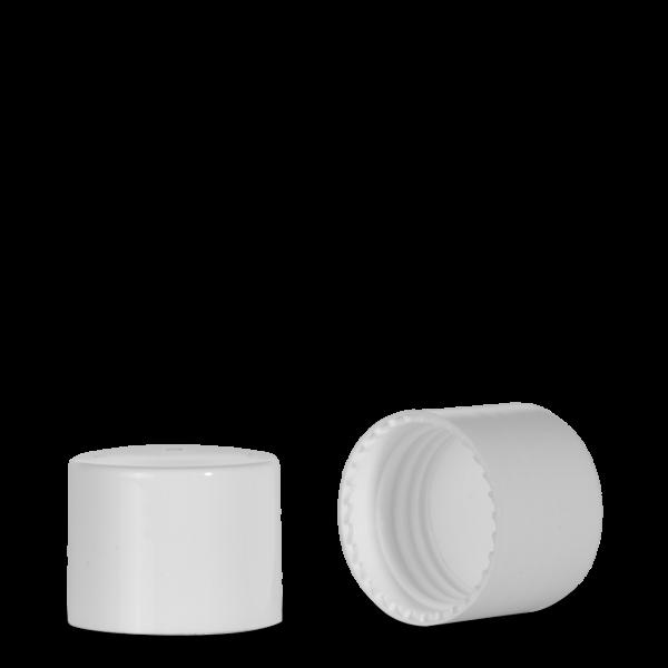 Schraubverschluss - PE-Einlage - weiß - 24/410
