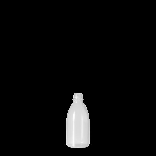 50 ml Enghals Laborflasche - rund - DIN 18