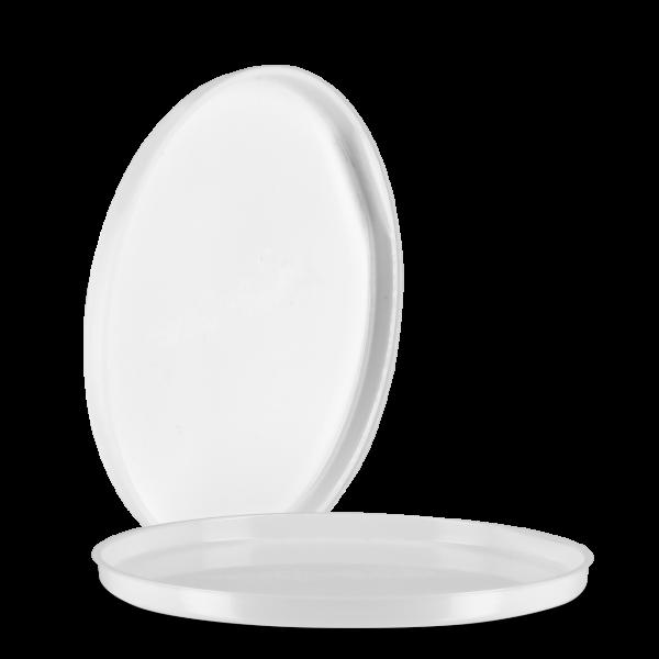 Einlegedeckel - weiß - 94mm