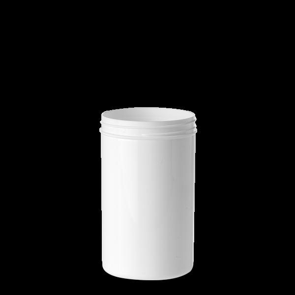 325 ml Schraubdose - rund - weiß - Gewinde 65 mm