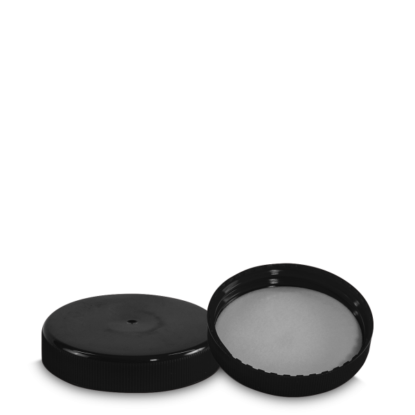 Schraubverschluss - schwarz - DIN 80 Gewinde
