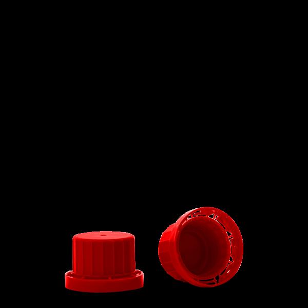 Originalitätsverschluss - rot - OV 28 Gewinde