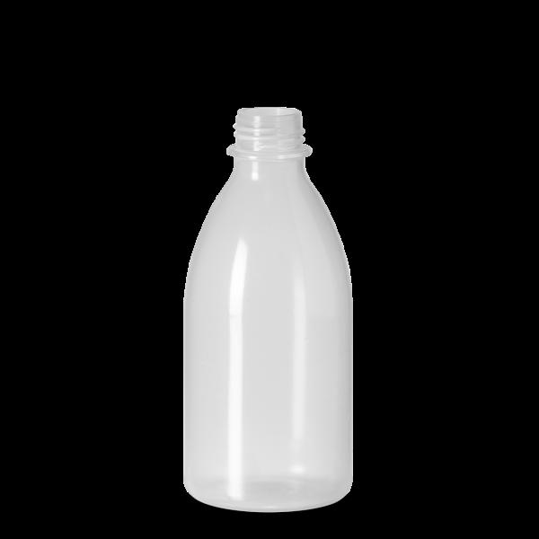 1000 ml Enghals Laborflasche - rund - DIN 28