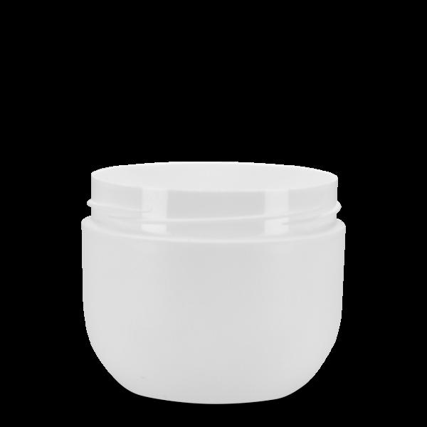 100 ml Kosmetikdose Lilie - weiß - 62 mm