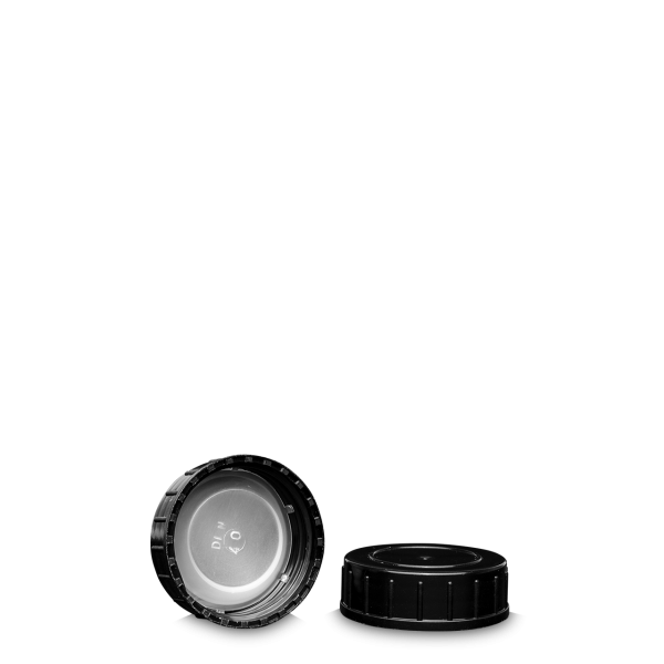 Schraubverschluss - schwarz - GL 40 - LDPE