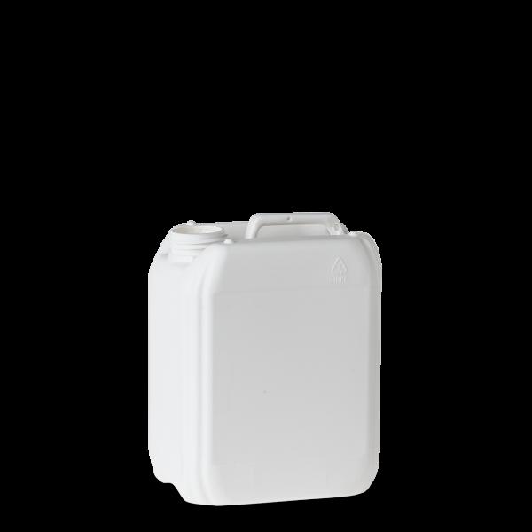 5 Liter Kunststoff Kanister weiß - DIN 51 - UN-Y