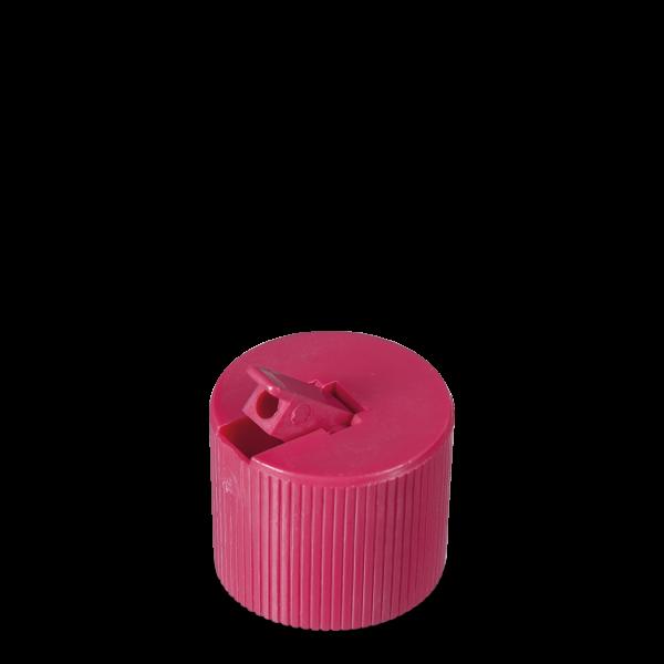 Kipphebelverschluss - magenta - DIN 25 Gewinde