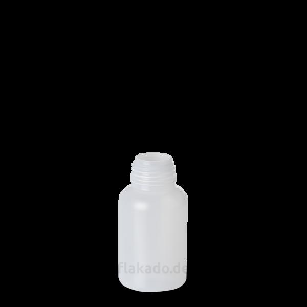 100 ml Weithals Laborflasche - rund - DIN 32