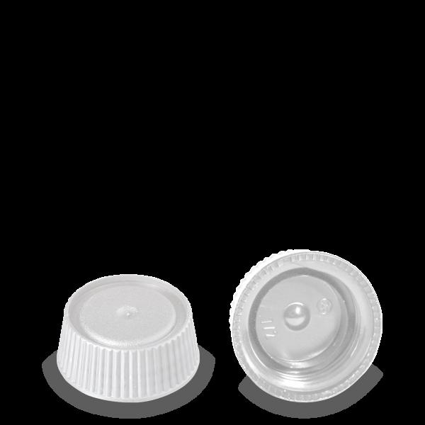 Schraubverschluss - weiß - DIN 28 Gewinde