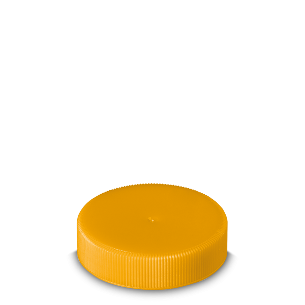 Schraubverschluss - gelb - DIN 60 Gewinde
