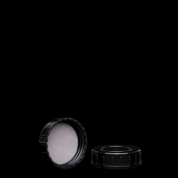 Schraubverschluss - schwarz - GL 45 - PTFE