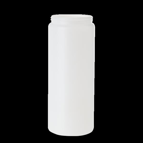 1800 ml Dose - rund - natur - DIN 90 Gewinde