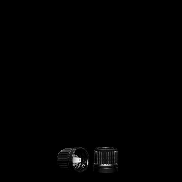 Tropfverschluss - schwarz - GL 18 - UNI 2