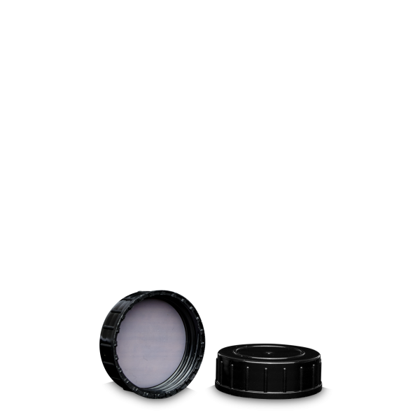 Schraubverschluss - schwarz - GL 40 - PTFE
