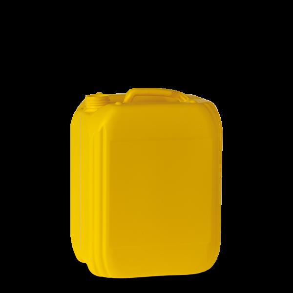 10 Liter Kanister Kunststoff gelb - DIN 45