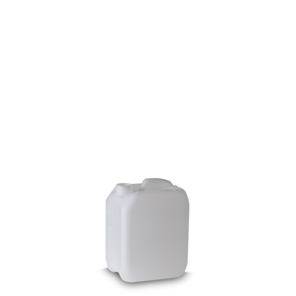 2 Liter Kunststoff Kanister natur - DIN 45 - UN-Y