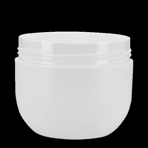 200 ml Kosmetikdose Lilie - weiß - 80 mm