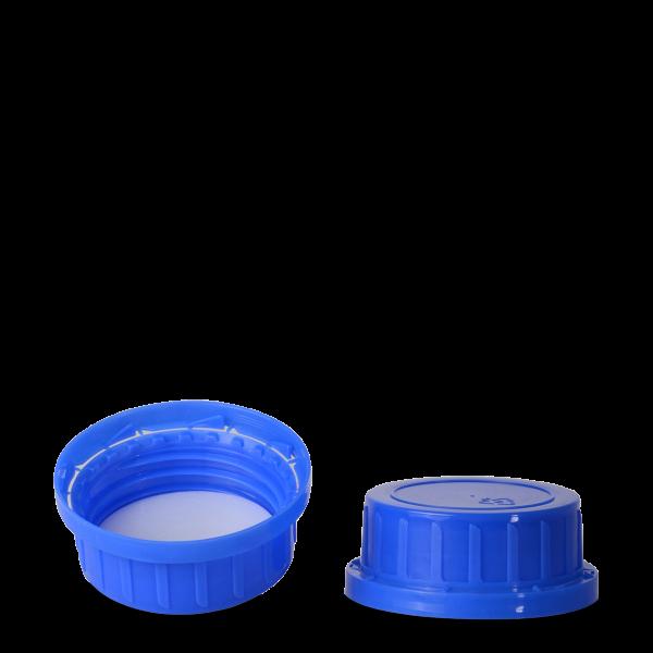 Originalitätsverschluss - blau - OV 80 Gewinde