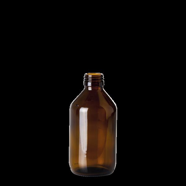 250 ml Verpackungsflasche - Braunglas - PP 28