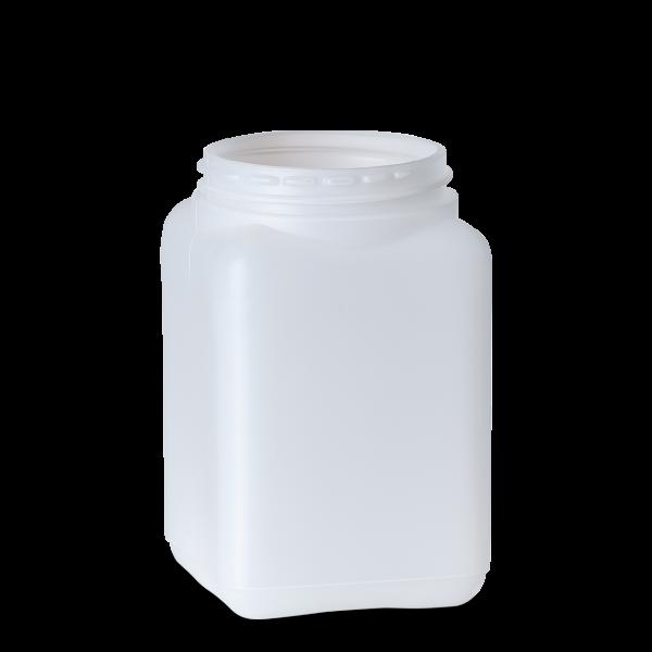 1000 ml Dose - quadratisch - natur - DIN 80