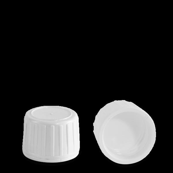 Originalitätsverschluss - weiß - PP 28 Gewinde