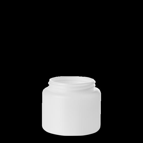 500 ml Dose - rund - natur - DIN 80 Gewinde