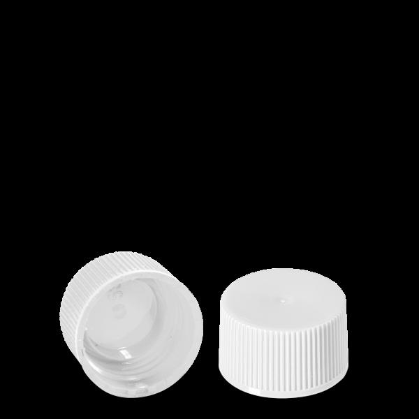 Schraubverschluss - weiß - DIN 25 Gewinde