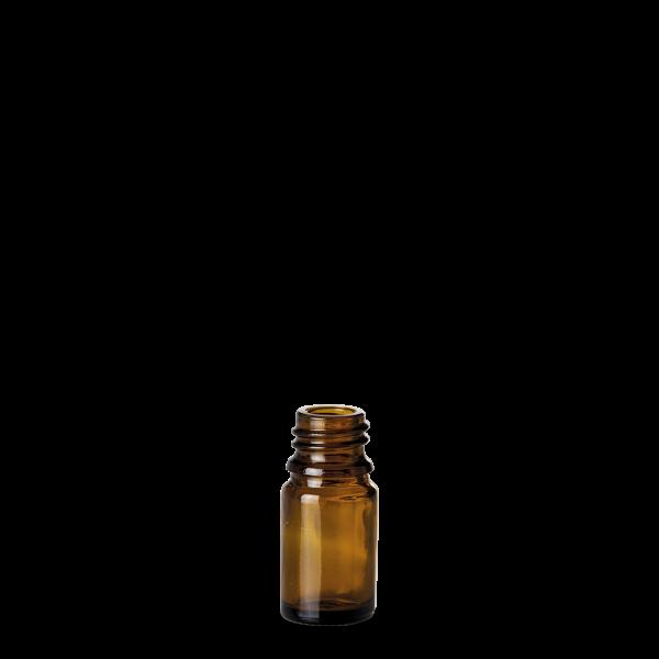 5 ml Allroundflasche - Braunglas - GL 18 Gewinde