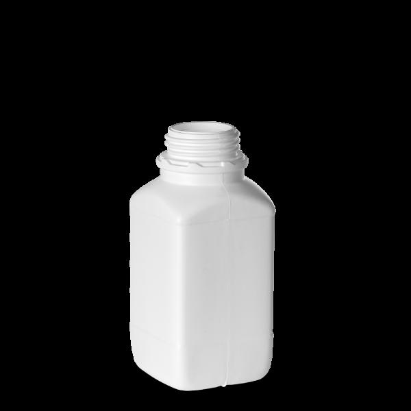750ml Vierkantflasche - weiß - OV 54 - UN-X