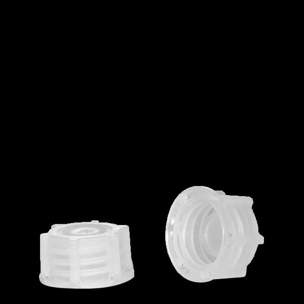 Verschluss Laborflasche - natur - DIN 18 Gewinde