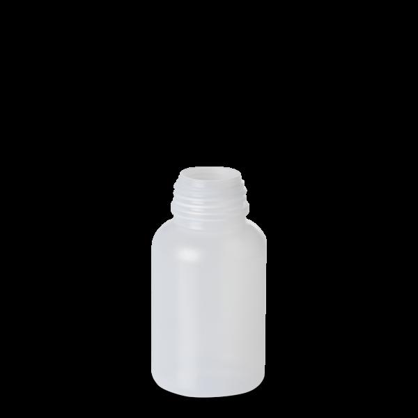 250 ml Weithals Laborflasche - rund - DIN 40