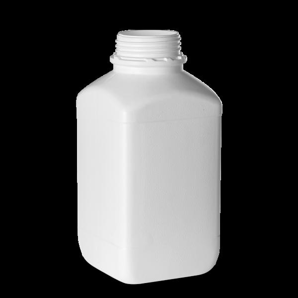 4000ml Vierkantflasche - weiß - OV 80 - UN-X