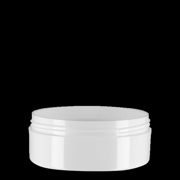200 ml Kosmetikdose Lotus & Calla - weiß - 94 mm