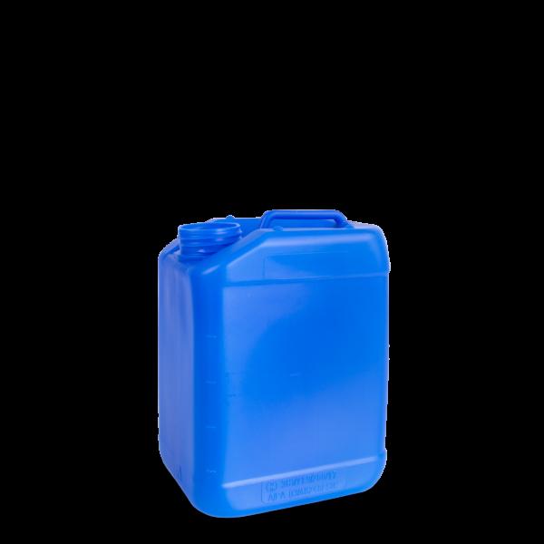 5 Liter Kunststoff Kanister hellblau DIN 61- UN-Y