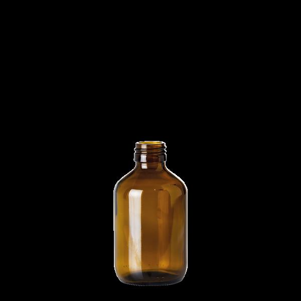 200 ml Verpackungsflasche - Braunglas - PP 28