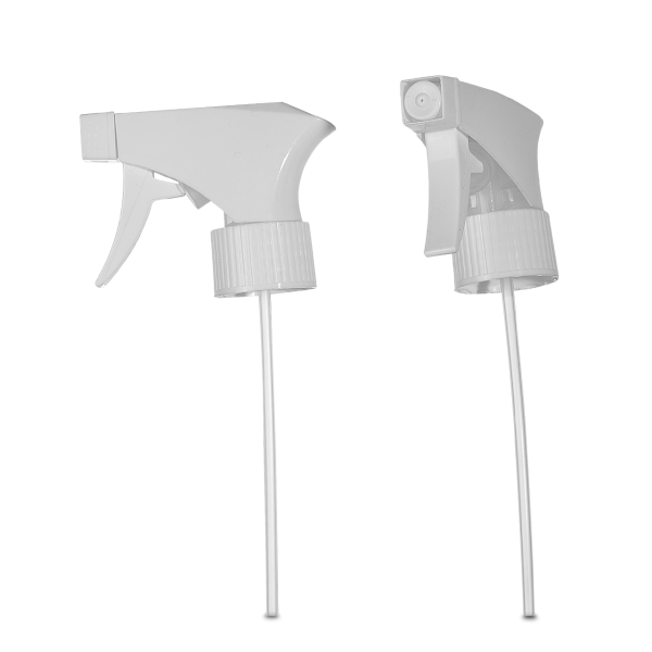 Sprühpistole - weiß - DIN 28/410 Gewinde - 200mm