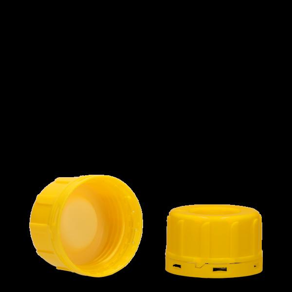 Originalitäts Glockenverschluss - gelb - GL 45
